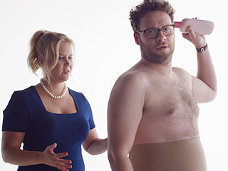 Amy Schumer and Seth Rogen for Prez? Comedians Join Forces in Super Bowl Beer Ad