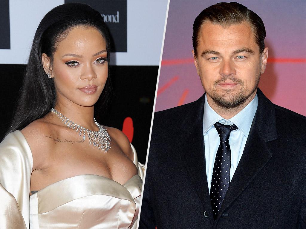 Leonardo DiCaprio and Rihanna Meet Up in Paris