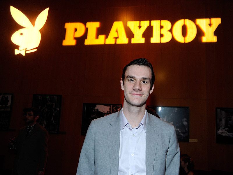 Hugh Hefner's Son Cooper Rails Against Decision to Ban Nudity in Playboy