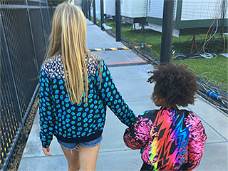Gwyneth Paltrow Posts Sweet Pic of Apple and Blue Ivy at the Super Bowl