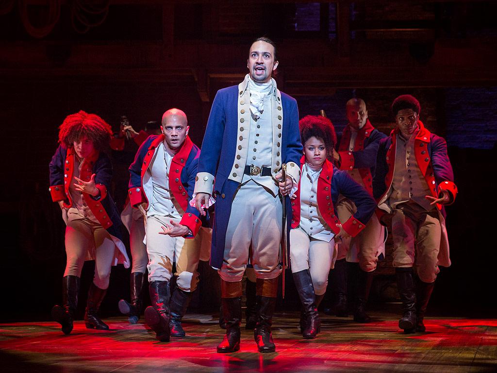 Lin-Manuel Miranda and Hamilton Cast Celebrate Musical's Tony Nominations