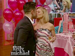 Kelly Ripa Celebrates Her Live Career with a 'Sweet 15' – and Surprise from Husband Mark Consuelos
