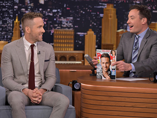 See Jimmy Fallon Reveal Ryan Reynolds as PEOPLE's Sexiest Dad Alive!