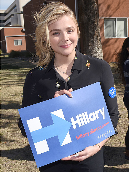 Chloe Grace Moretz Says Young Women are 'Afraid' to Vote Hillary Clinton