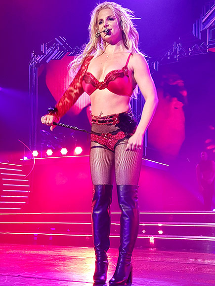 Britney Spears Returns to Las Vegas for Piece of Me Show