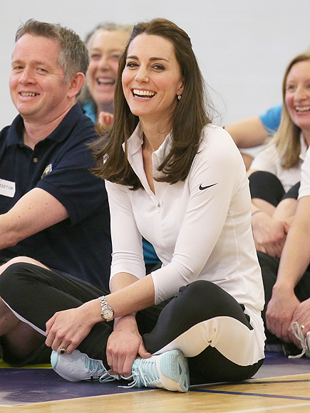 See Princess Kate Hit the Court in Diamonds and Sneakers!