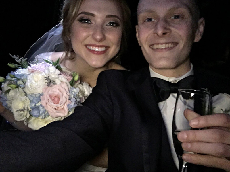 Pennsylvania Teen with Terminal Cancer Marries His High School Sweetheart