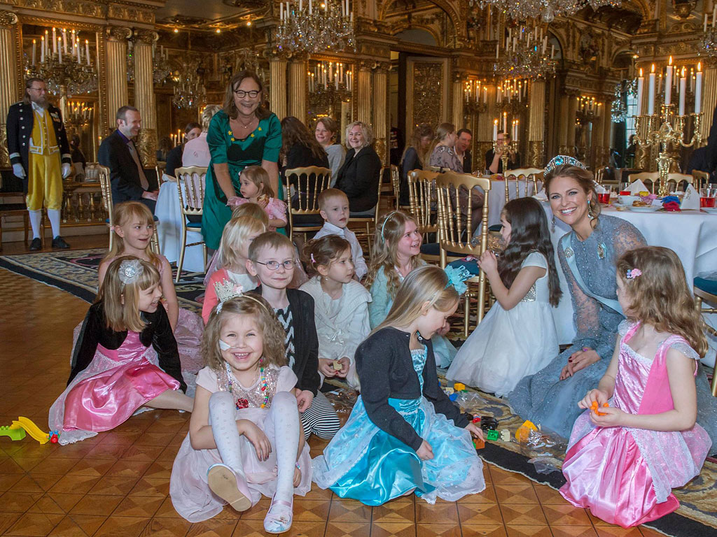 Princess Madeleine Throws a Fairy Tale Bash for 12 Special Young Guests