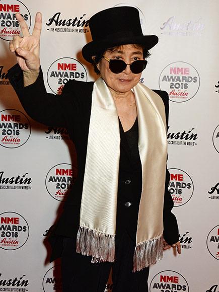 Yoko Ono Taken to Hospital After Suffering 'Extreme Flu Like Symptoms'
