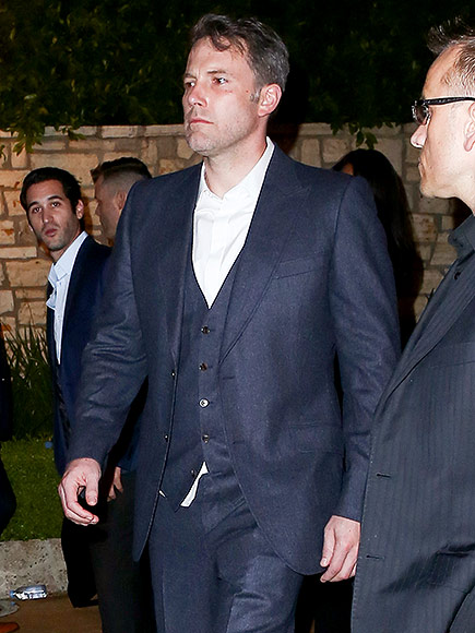 Ben Affleck Attends Pre-Oscars Party after Jennifer Garner Vanity Fair Interview