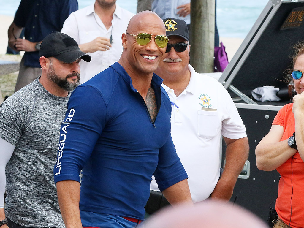 Dwayne 'The Rock' Johnson Invites Sick 7-Year-Old Fan to Baywatch Set