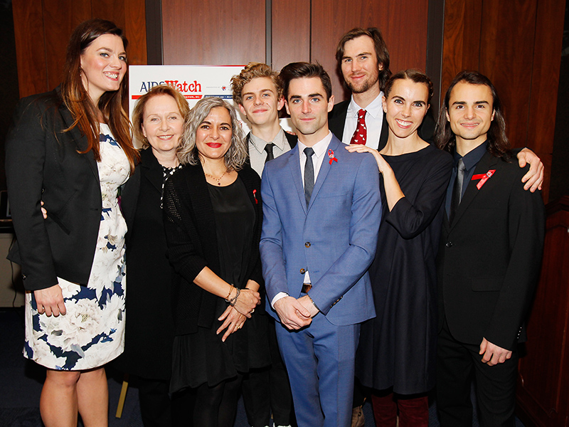 Elizabeth Taylor's Grandchildren Carry On Her Legacy At AIDSWatch