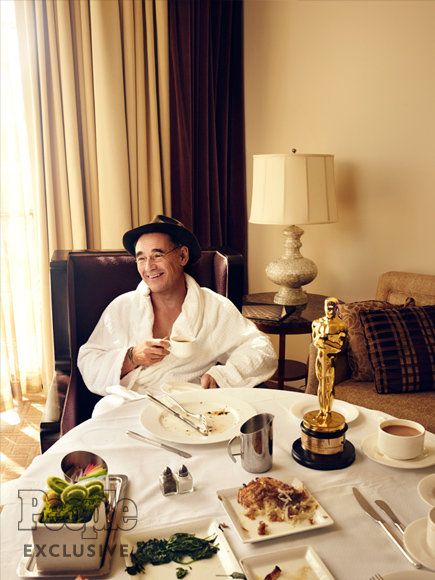 See How Mark Rylance Celebrated His Oscars Win