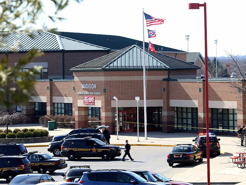 Ohio High School Shooting: Four Students Injured