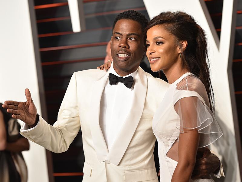 Chris Rock and New Gal Pal Megalyn Echikunwoke Get Cozy After Oscars