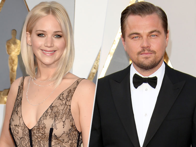 Jennifer Lawrence and Leonardo DiCaprio Asked Who for a Selfie?