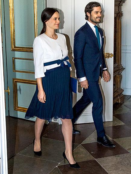 Pregnant Princess Sofia Wraps Her Bump in a Blue Bow