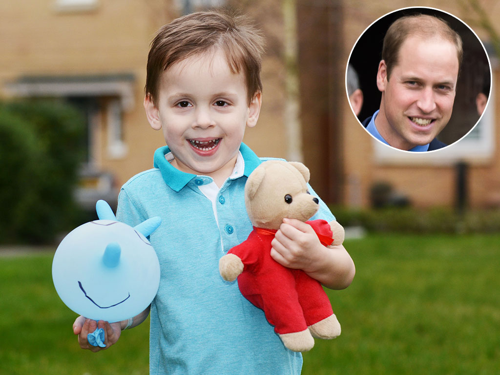See Prince William's Sweet Surprise for a Sick 3-Year-Old
