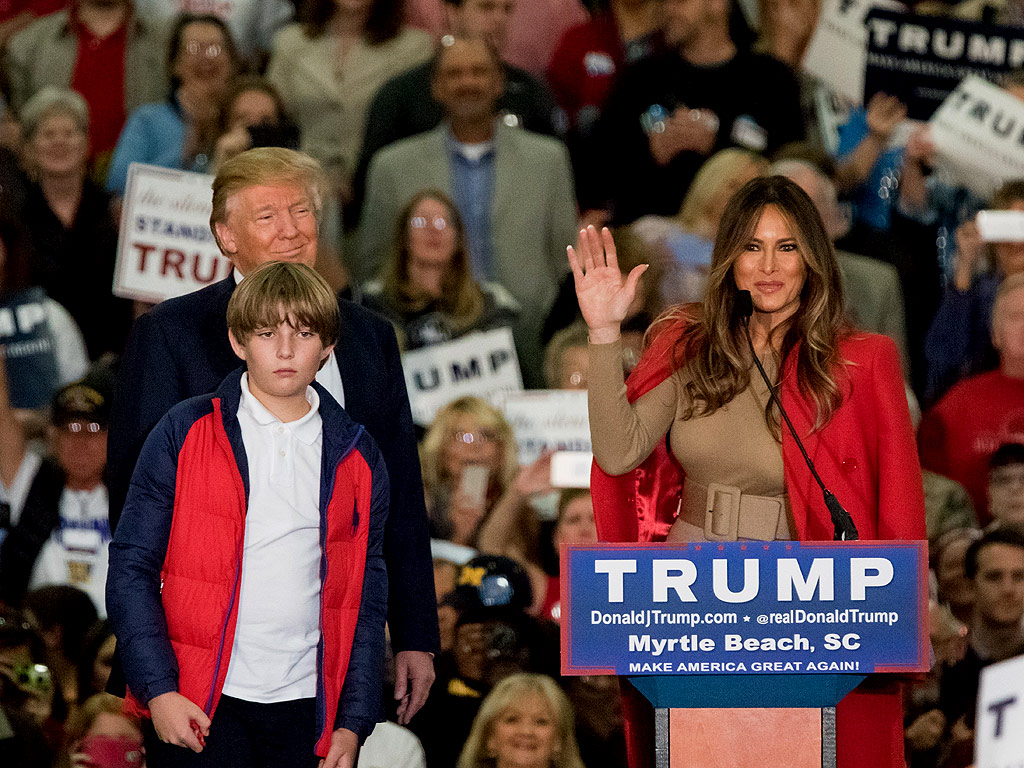 Donald Trump's Son Barron: 'When Are You Coming Home Daddy?' : People ...