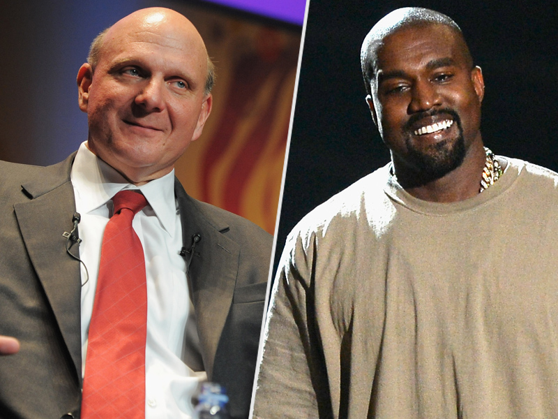 Kanye West to Meet with Clippers Owner Steve Ballmer About Logo