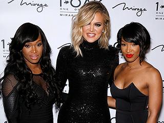 Khloé Kardashian Joins BFFs Malika and Khadijah Haqq in Las Vegas to Celebrate Twins' Birthday