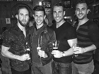 Shawn Booth Hangs with Fiancée Kaitlyn Bristowe's Bachelorette Exes