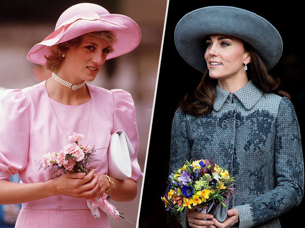 The 39 Unseen Work 39 Princess Kate Shares With Princess Diana