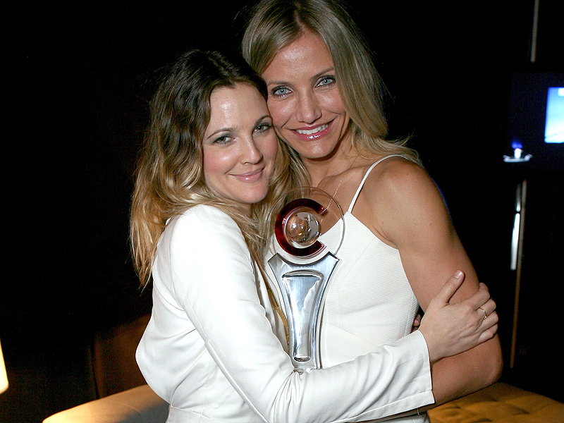 Drew Barrymore Talks Cameron Diaz Friendship