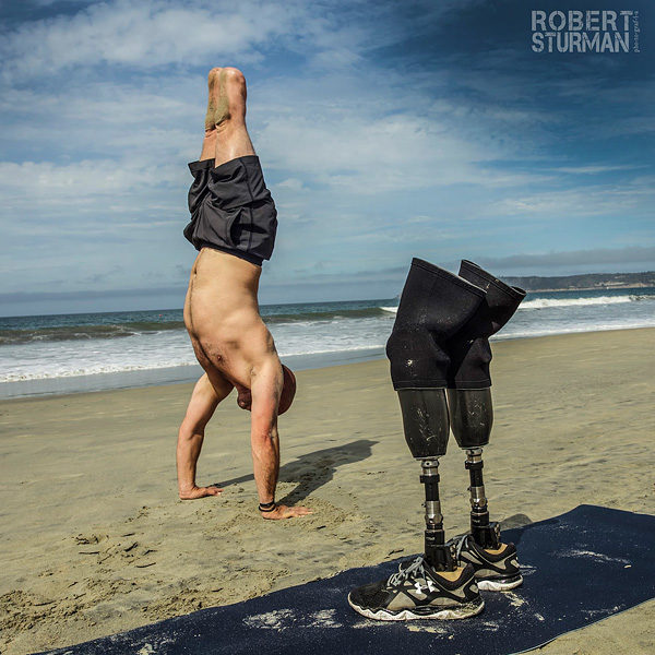 Double Amputee Veteran Says Yoga Saved His Life