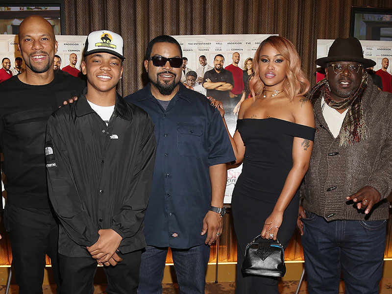 Barbershop: The Next Cut Cast on Using Humor to Address Gun and Gang Violence