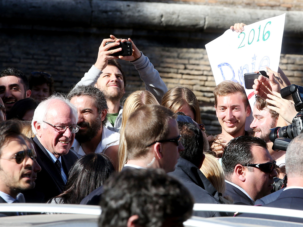 Bernie Sanders Visits Rome But Doesn't Get to Meet Pope Francis