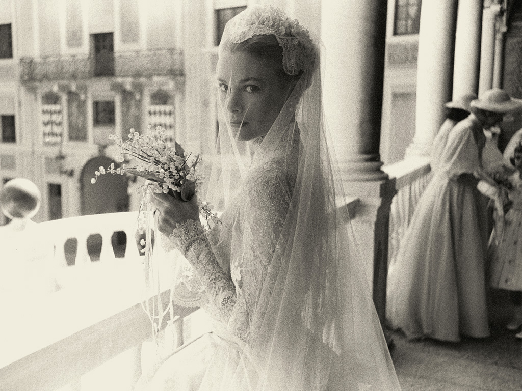 grace kelly 39 s wedding to prince rainier private family photos. Black Bedroom Furniture Sets. Home Design Ideas