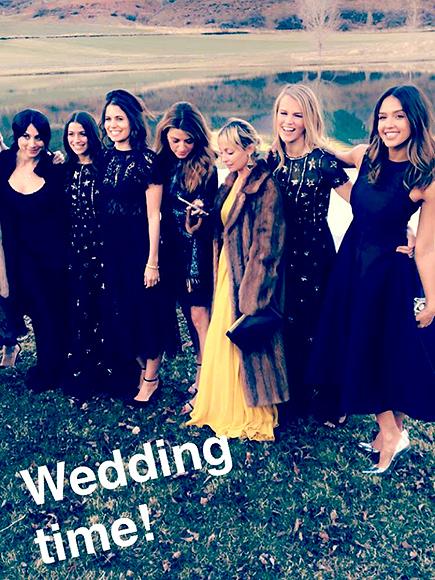 Jamie Schneider's Wedding: Katy Perry, Jessica Alba, Kate Hudson, More Attend