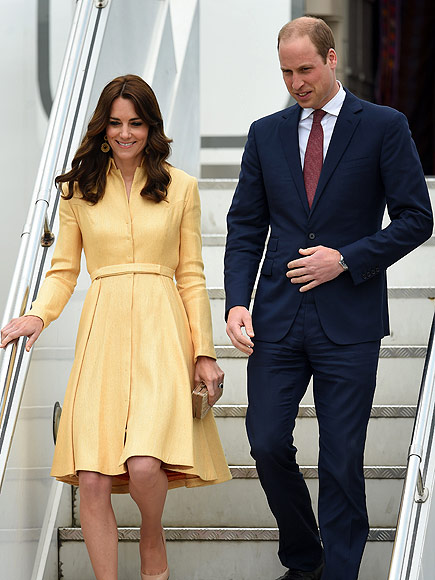 After a Tricky 'Captain-Only' Landing, Prince William and Princess Kate Touch Down in the Real Magic Kingdom