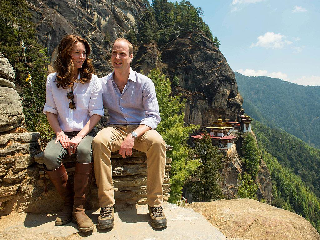 Royal Visit Bhutan: Kate Middleton and Prince William's Hike: Photos
