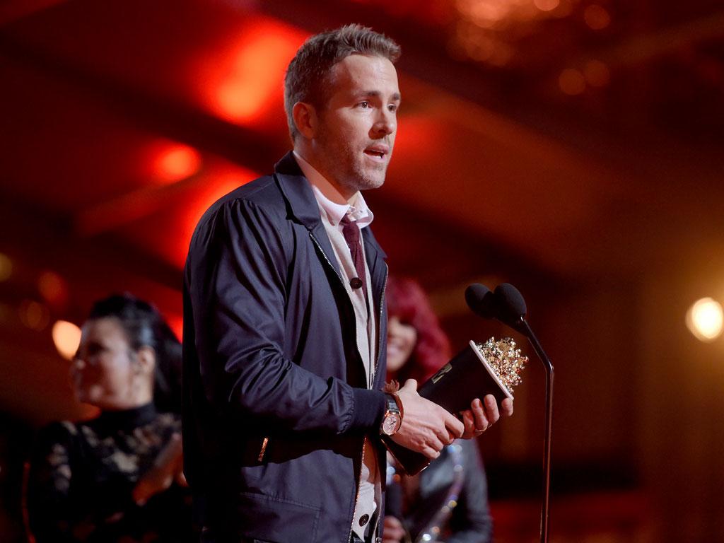 MTV Movie Awards 2016: Ryan Reynolds Wins Best Comedic Performance