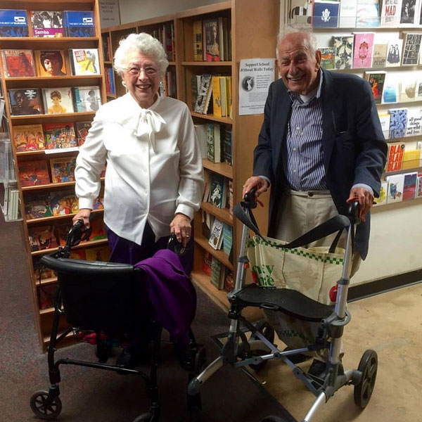 90-Year-Old Couple Goes on Blind Date at DC Bookstore