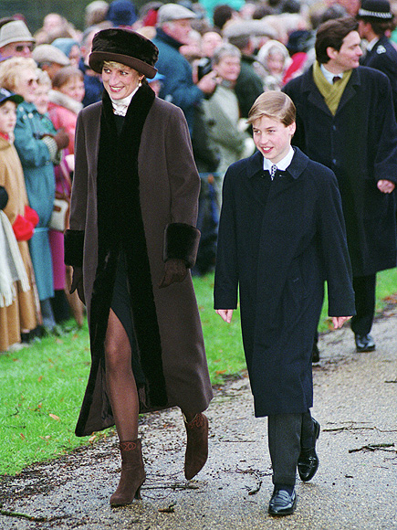 princess diana relationship with william and harry