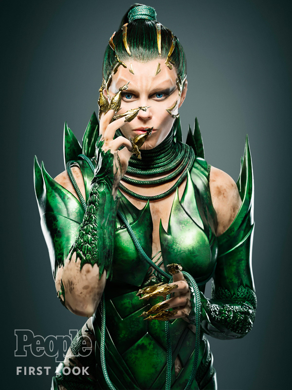 Elizabeth Banks as Power Ranger's Rita Repulsa: First Look