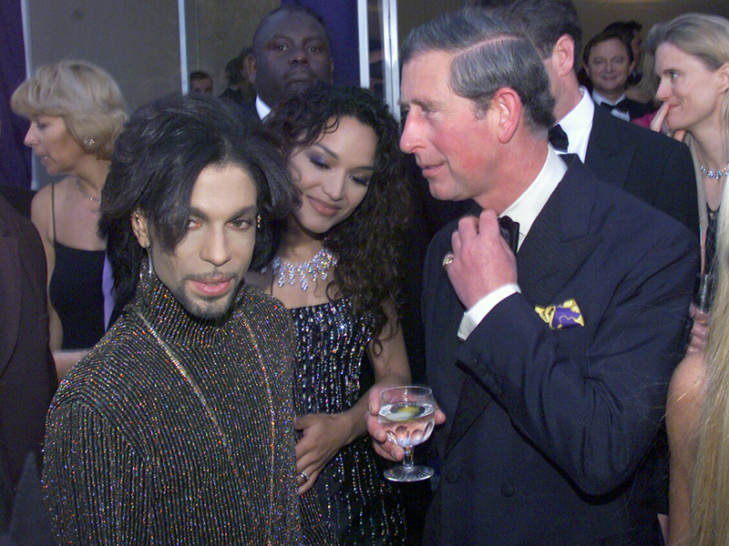 When Prince Charles Met Prince in 1999: Photos