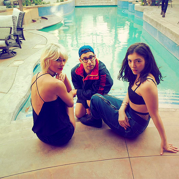 Taylor Swift at Coachella with Lorde, Jack Antonoff, More: Photos