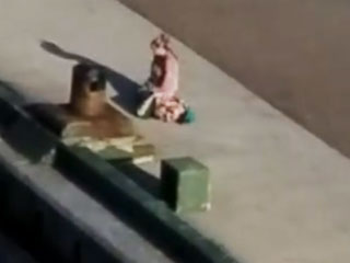Mother Collapses on Pier After Cruise Ship with Her Kids On Board Leaves Without Her