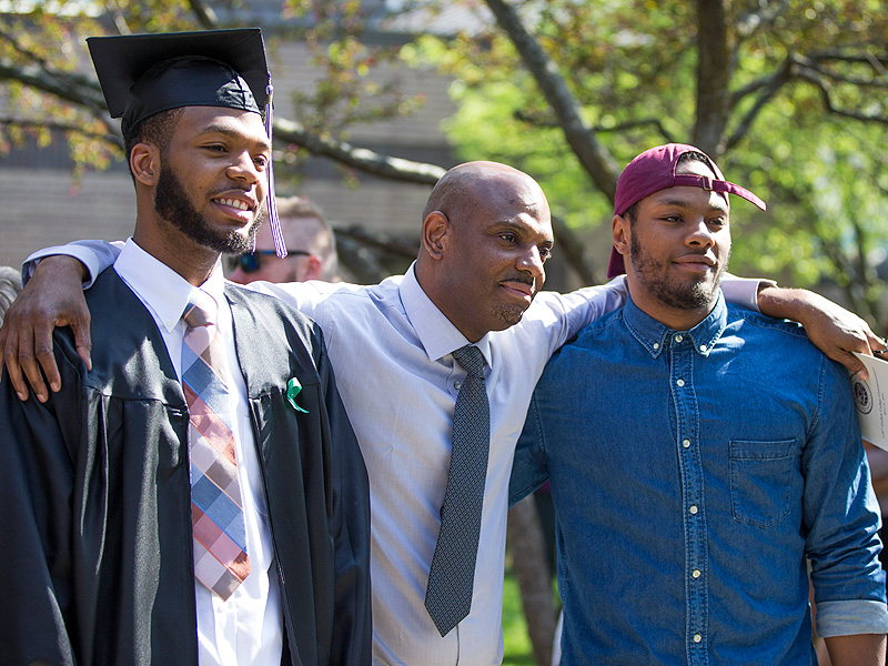 Wrongfully Imprisoned Father Sees Son Graduate After 22 Years