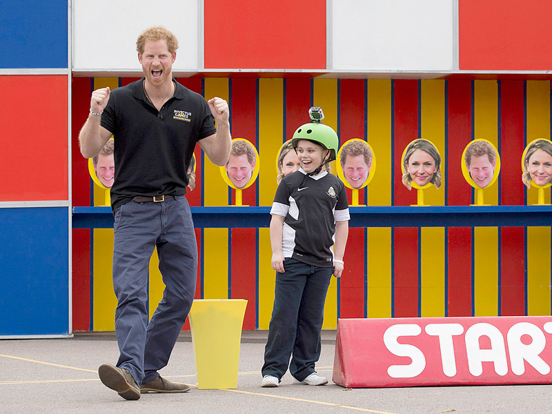 Prince Harry Films Children's TV Show Ahead of Invictus Games