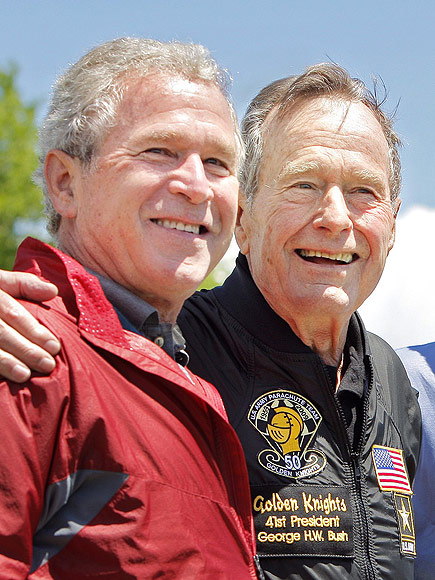 Former Presidents George Bush Sr. and Son Will Not Endorse Candidate