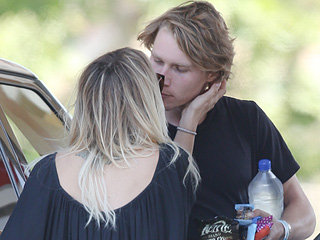 Kaley Cuoco Is 'Really Happy' as Her First Public Peck with New Boyfriend Karl Cook Is Snapped