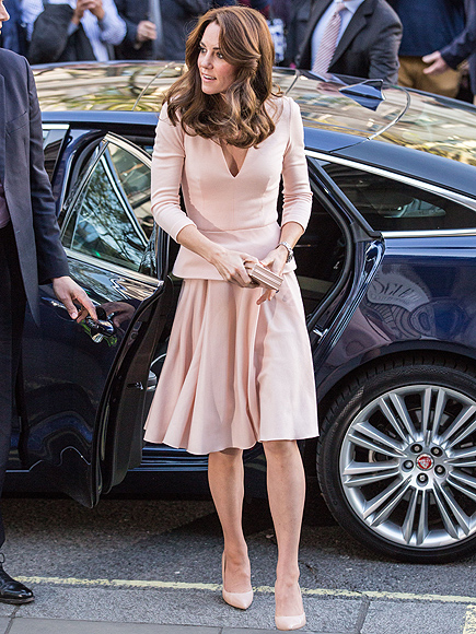 Kate Middleton Steps Out for Vogue Portrait Unveiling