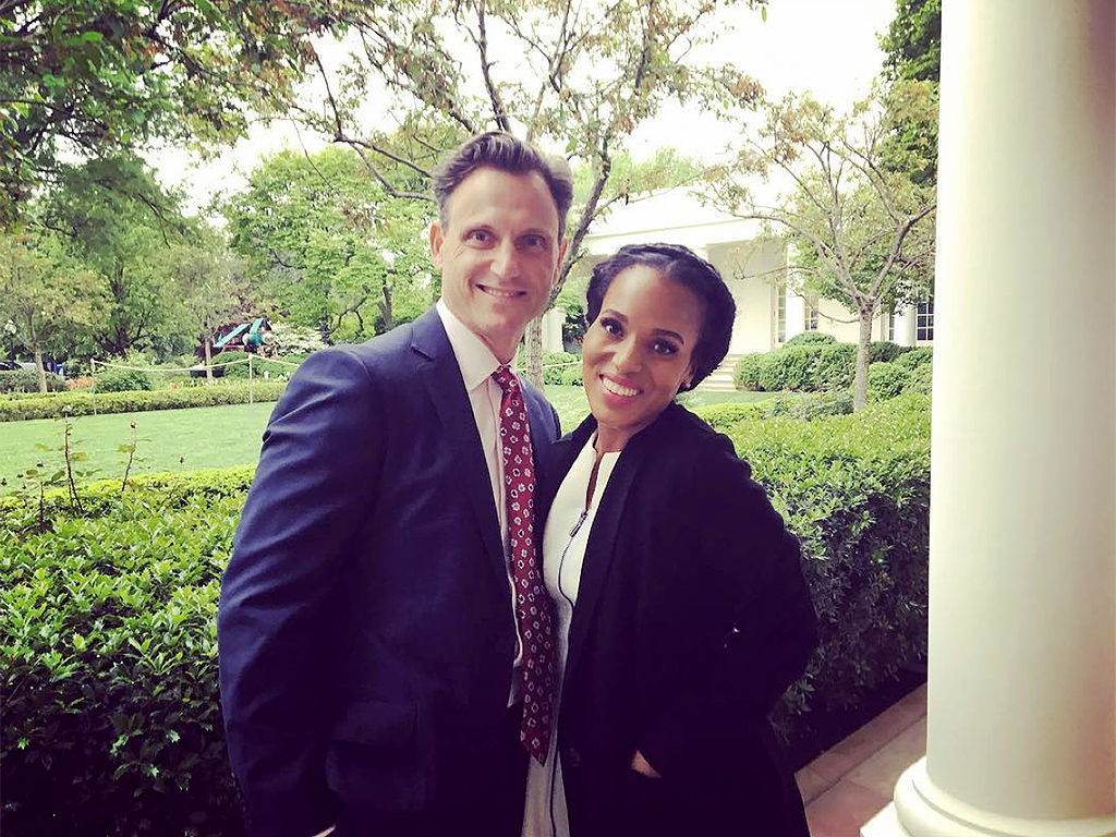 Scandal Cast, Including Kerry Washington and Tony Goldwyn, Tour the White House