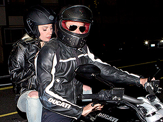Bradley Cooper Gives Lady Gaga a Lift to Dinner – on the Back of His Motorcyle