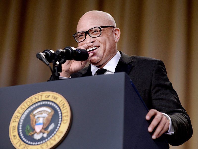 Larry Wilmore Pulls No Punches at WHCD: 'You Look Terrible, Mr. President'